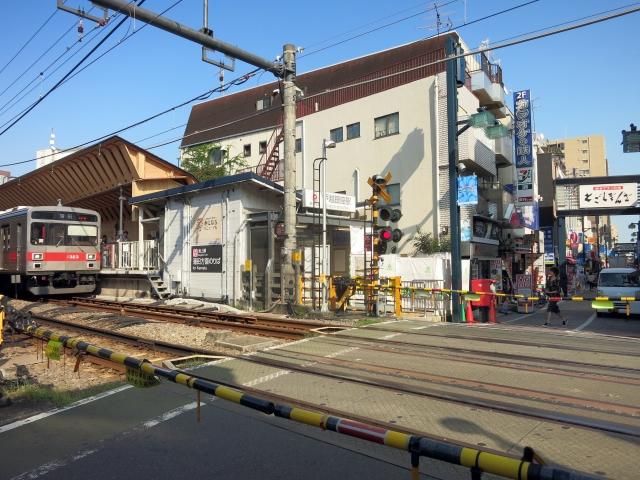 戸越銀座駅周辺の様子