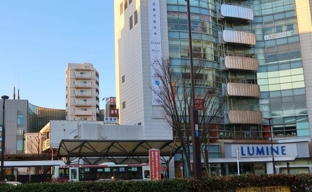 荻窪駅前のルミネ