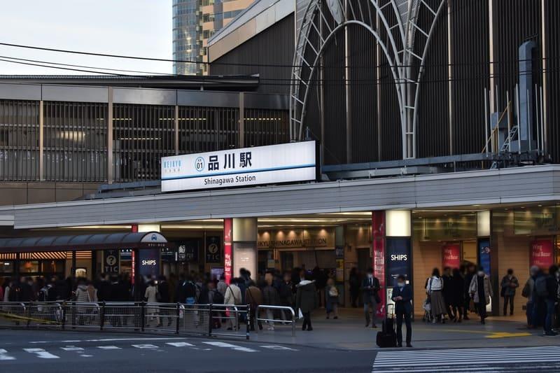 品川駅 駅前の様子