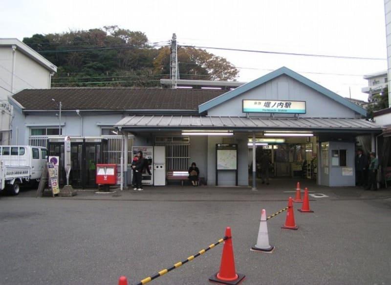 堀ノ内駅 駅前の様子