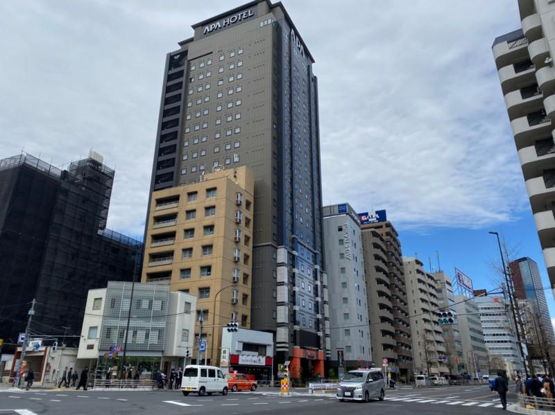 アパホテル品川 泉岳寺駅前