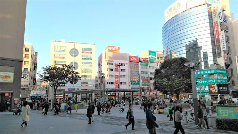 赤羽駅東口の風景