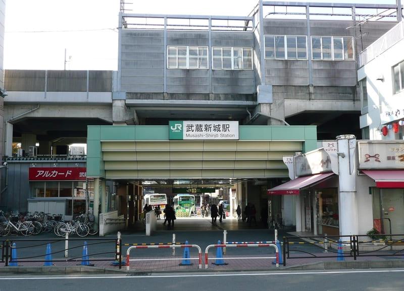 武蔵新城駅 駅前の様子