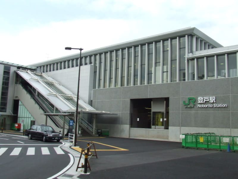登戸駅 駅前の様子