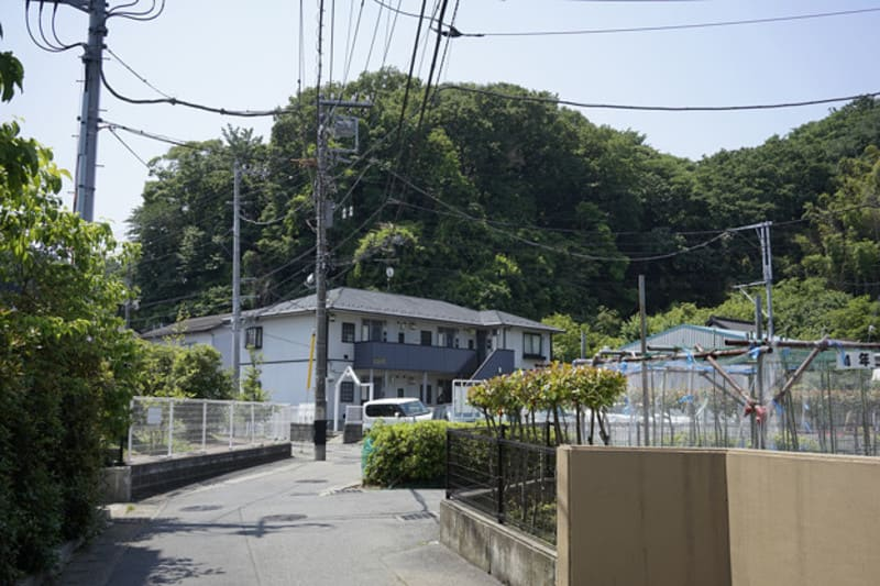 武蔵新城駅 住宅街の様子