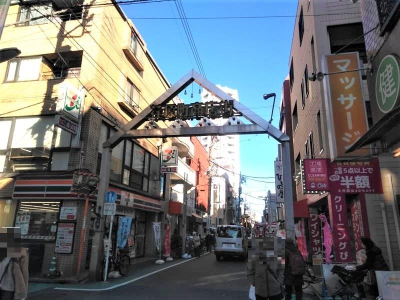 荏原町 商店街