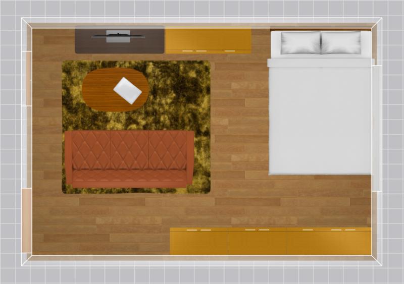 9畳の家具配置例