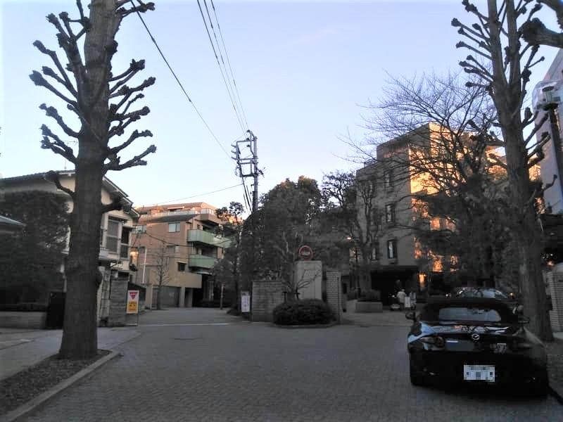 目黒駅 周辺の住宅街