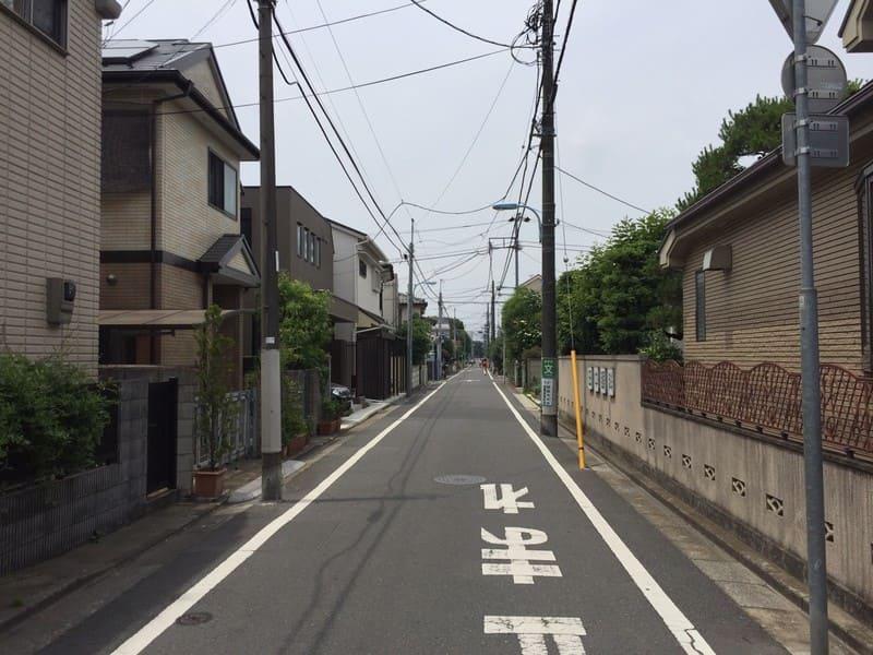 久我山駅 周辺の住宅街