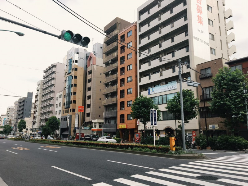 蔵前駅(寿三丁目付近)