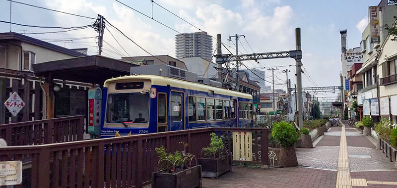 三ノ輪橋駅の路面電車