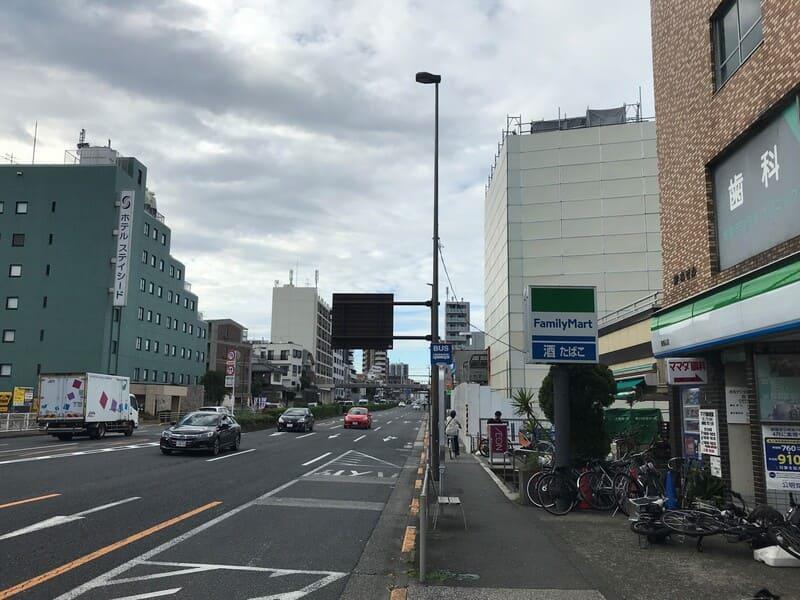 馬込駅 第二京浜沿いの様子