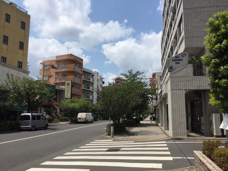 桜新町駅前のマンション