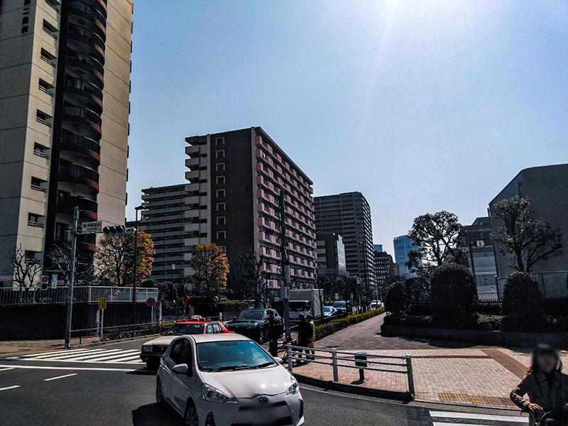 豊洲ふ頭付近の住宅