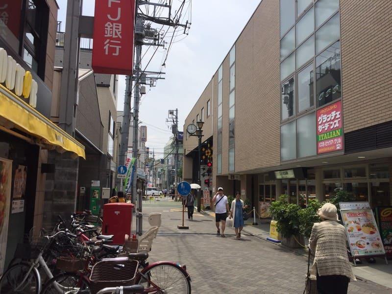 久我山駅北口 駅前の様子