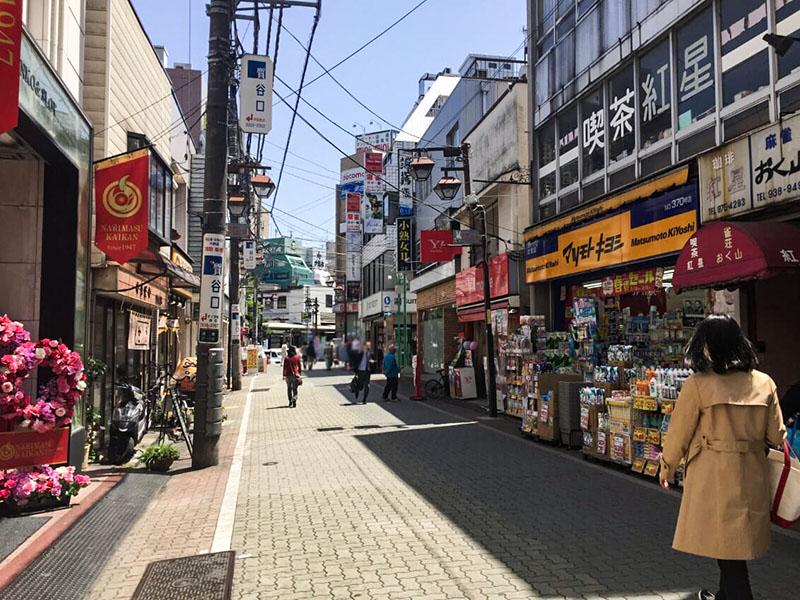 スキップ村商店街