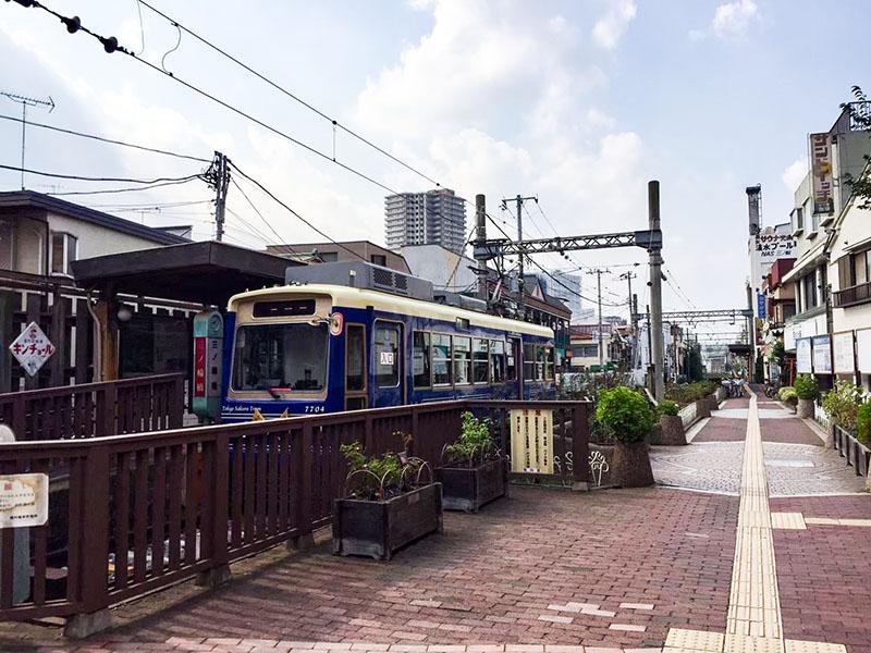 都電荒川線の三ノ輪橋駅