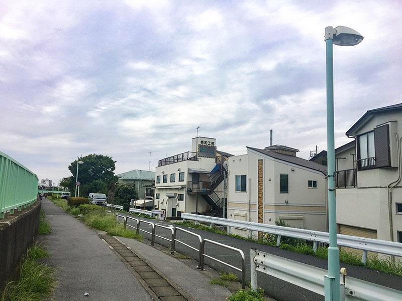 中川沿いの風景