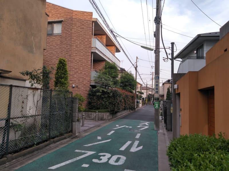 千歳烏山駅 周辺の住宅街