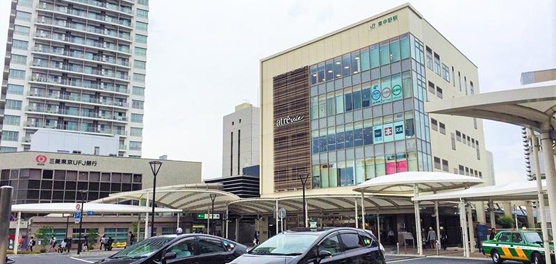 東中野駅の外観