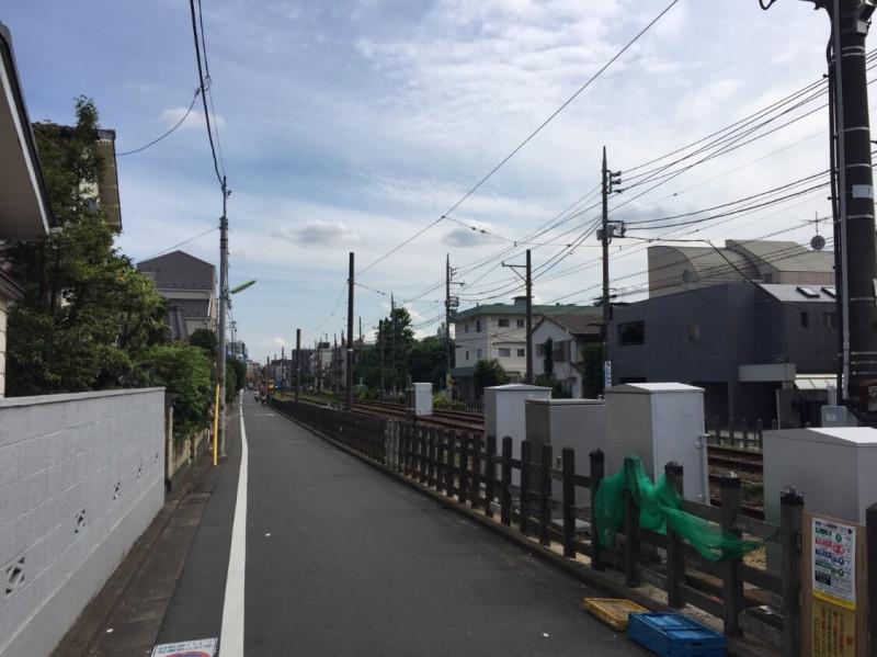 東急世田谷線沿線
