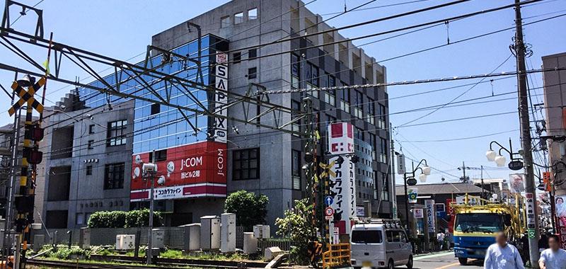 永福町駅周辺の踏切