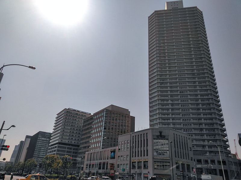 豊洲駅前のタワーマンション
