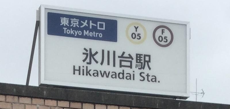 氷川台駅の外観