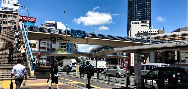 飯田橋駅の外観