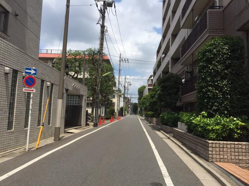 桜新町駅北口側の住宅街