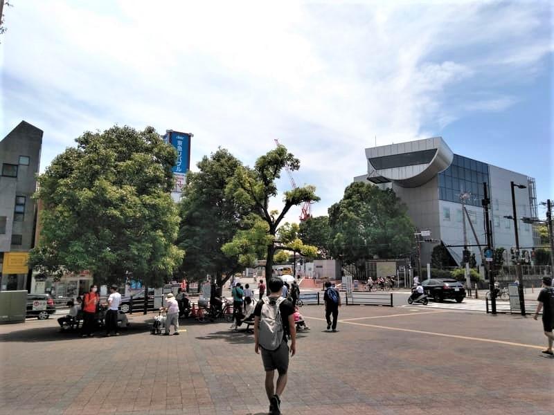 大岡山駅前広場 東京工業大学