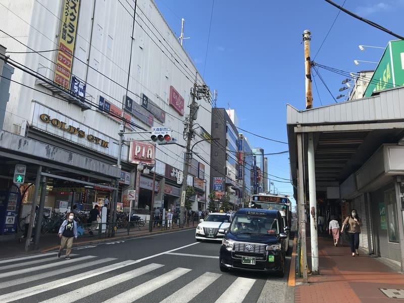 池上通り沿い 大森駅山王口商店会