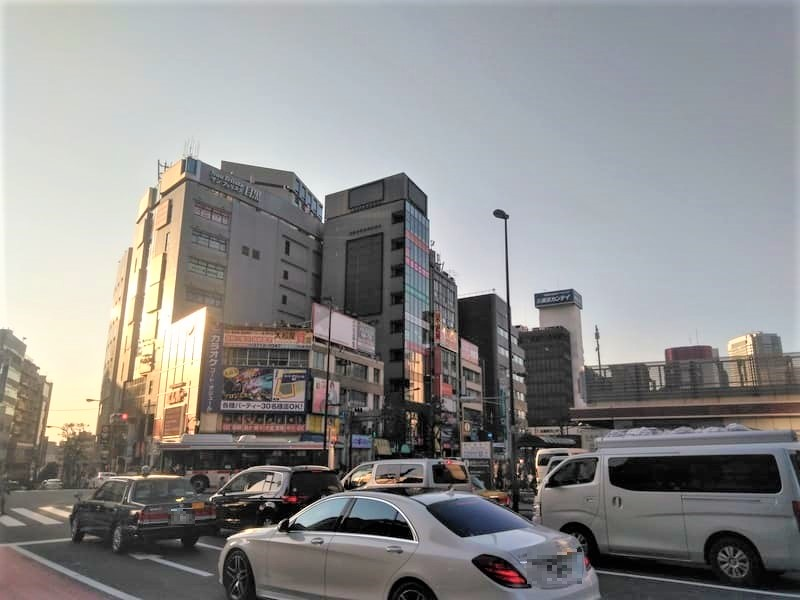 目黒駅 駅前の様子