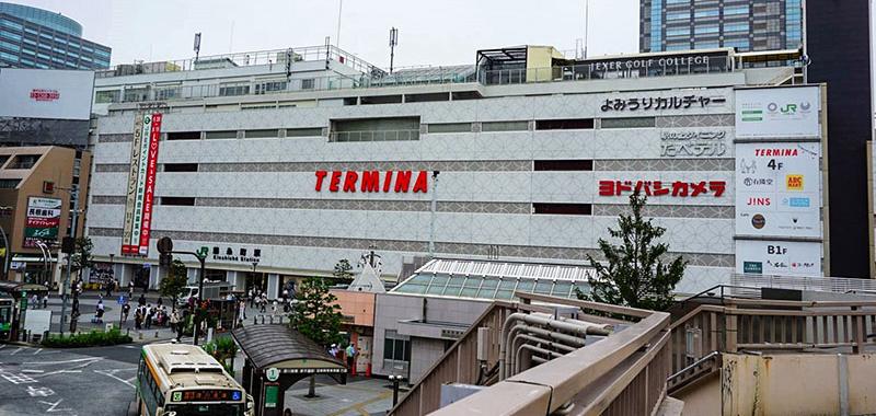 錦糸町駅南口の外観
