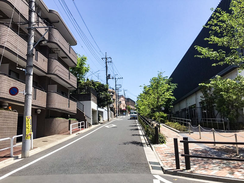 成増駅の住宅街