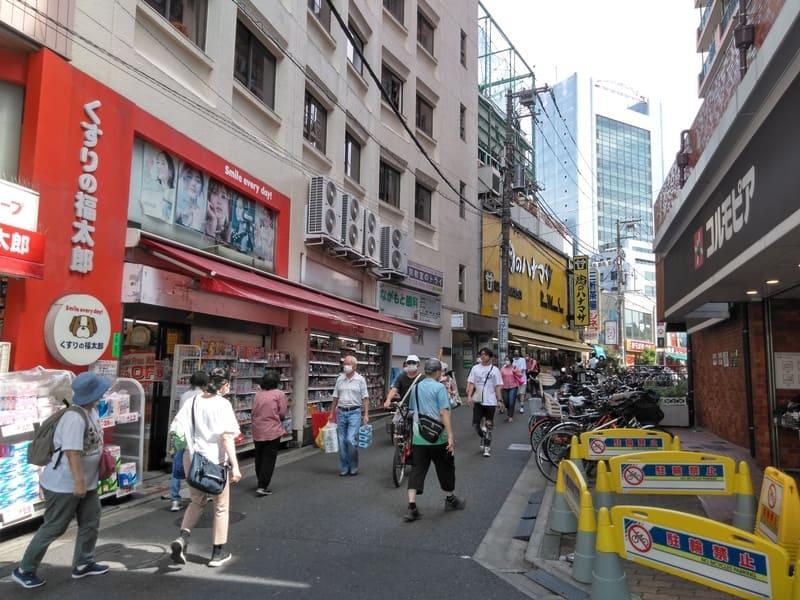 三軒茶屋駅 周辺の商店街