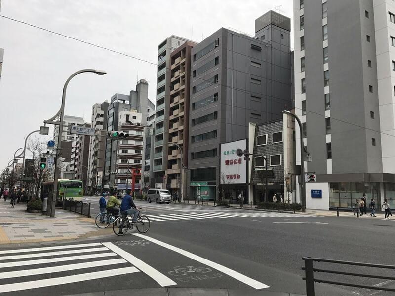 上野駅 浅草通り沿い