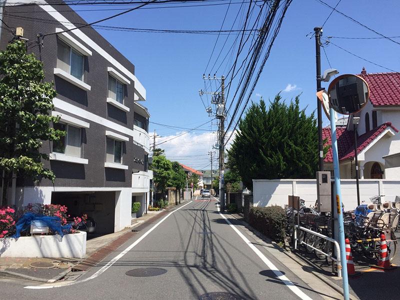 永福町駅北側の住宅街2