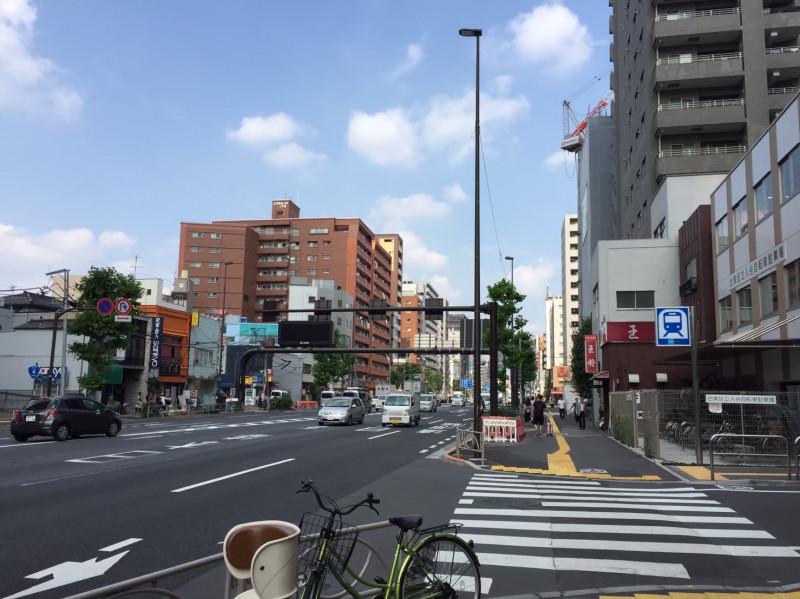 入谷駅(昭和通り沿い・入谷自転車駐車場)