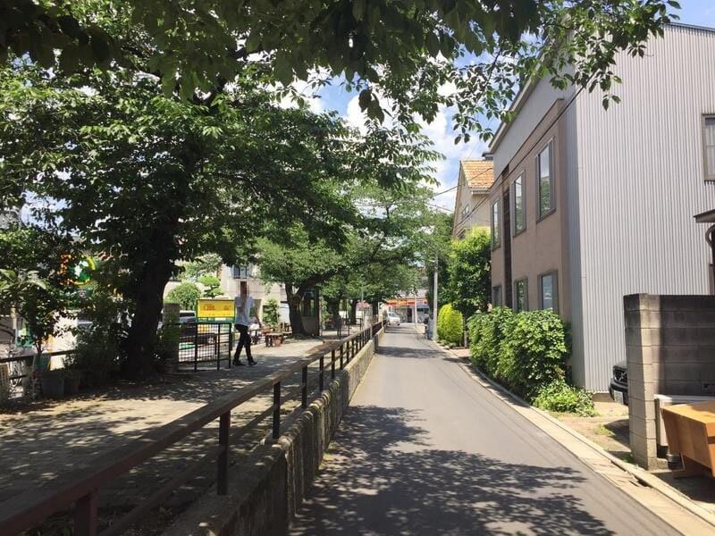 西小山駅 桜並木