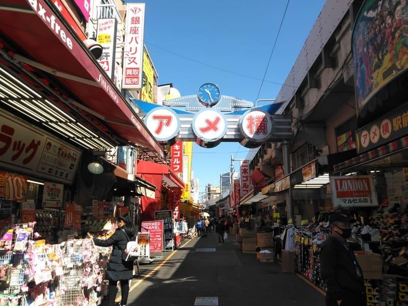 上野 アメ横 商店街