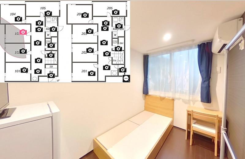 シェアドアパートメント赤羽3の物件写真