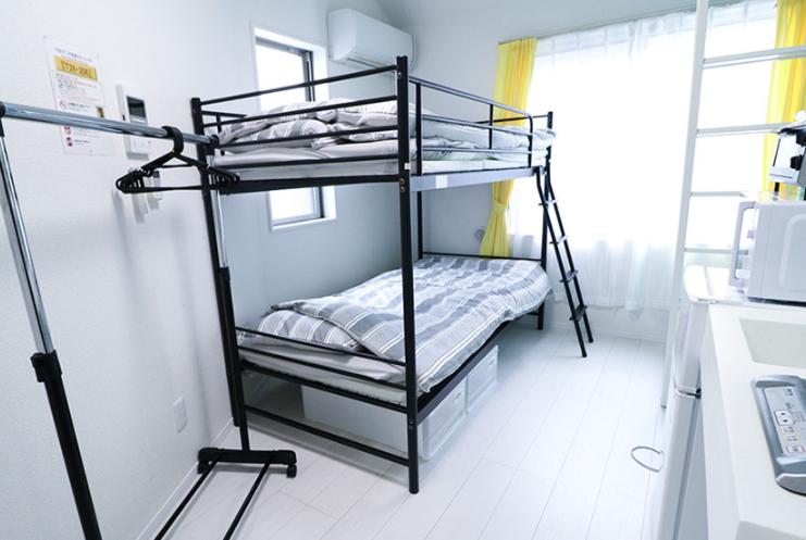 2段ベッドのお部屋の写真