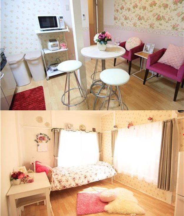 普通の個室タイプのシェアハウスの例