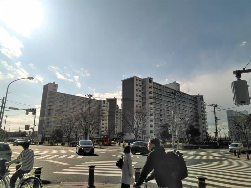 新浦安駅 周辺の様子