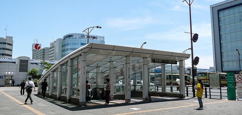 湘南台駅の外観