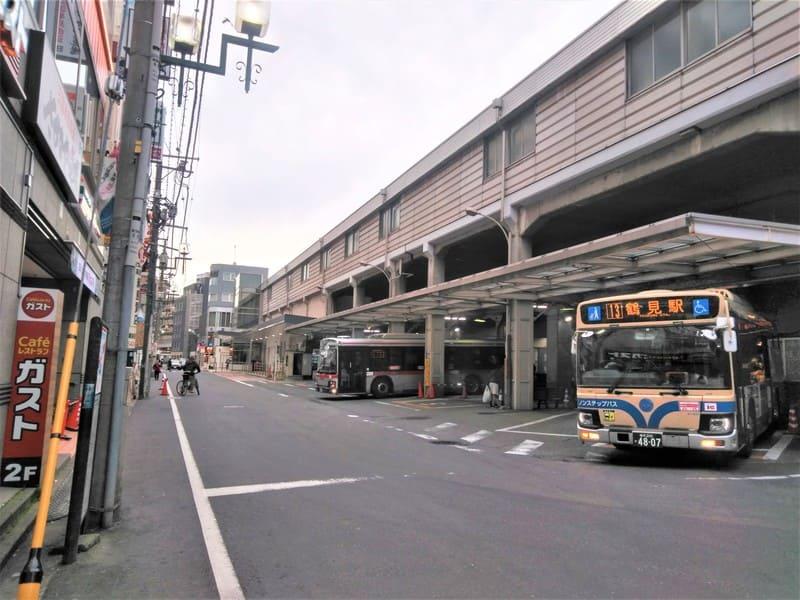綱島駅 東口 バスターミナル