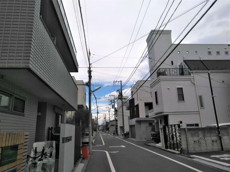 尾山台駅 周辺の住宅街