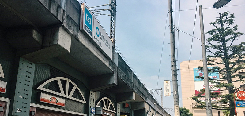 妙典駅の外観