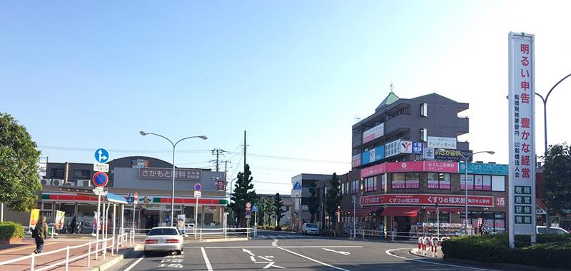 東船橋駅の外観